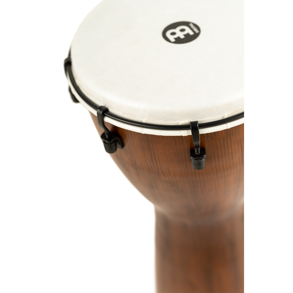MEINL Percussion Alpine Series Synthetic Djembe ADJ10-BW Finitura Barnwood 10